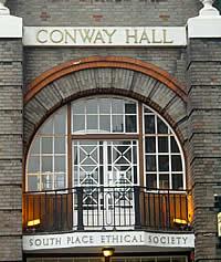 Conway Hall balcony